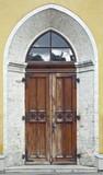 Old medieval gate - 196857826