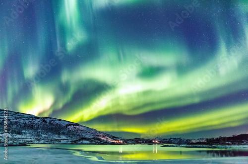 Sticker Northern lights