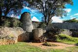 The Great Zimbabwe ruins outside Mavingo in Zimbabwe - 196871285