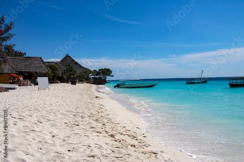 Foto Spatwand Zanzibar Nungwi Beach, Zanzibar, Tanzania