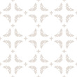 Vector seamless abstract geometric pattern in pastel colors, white and beige - 196871407