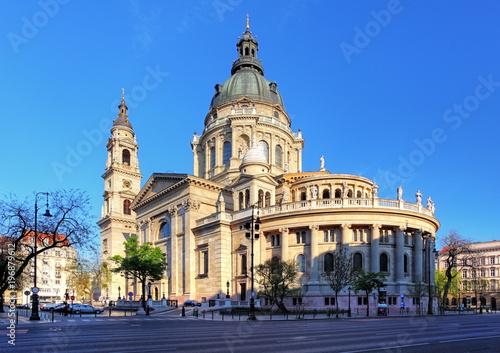 Foto op Canvas Boedapest Budapest - St. Stephen basilica