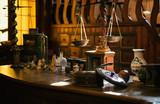 Table d'alchimiste