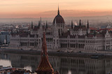 sunrise view of Budapest from Fisherman's Bastion - 196903855