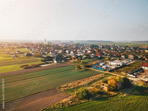 Wieś z powietrza - 196905831