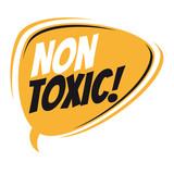 non toxic retro speech balloon - 196909270