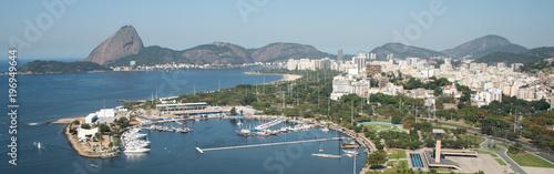 Aerial view over Rio de Janeiro  - 196949644
