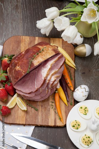 Spicey Ham For Easter - 196951815