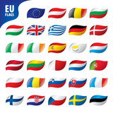 flags of the european union - 196969259