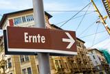 Schild 223 - Ernte - 196981412