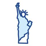 Freiheitsstatue / New York Vector Icon - 196985854