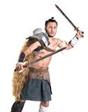 Gladiator/Barbarian warrior - 196988468