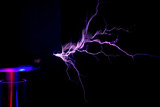 Electrostatic Discharge of Tesla Coil