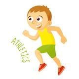 Kinds of sports. Athlete. Athletics. Run