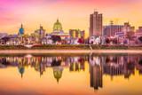 Harrisburg, Pennsylvania, USA Skyline