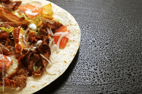 Döner kebab كباب, Kebāb Քաբաբ Kabobs Kebabs 烤串 كباب  - 197022686