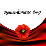 Remembrance Day greeting card - 197025610