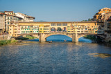 Ponte Vecchio over Arno river in Florence, Tuscany, Italy