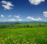 Mountain landscape summer