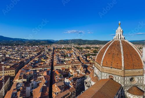 Foto op Plexiglas Florence Duomo in Florence - Italy