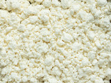 Background of homemade natural cottage cheese Selective focus - 197040423