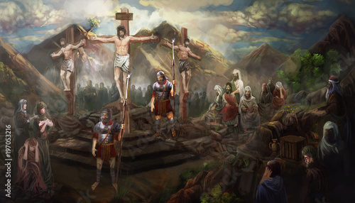 crucifixion of Jesus Christ © vukkostic