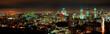 Panorama notturno della città di Montreal
