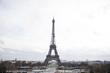 Eiffel tower in Paris, France