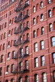 Traditional New York buildings