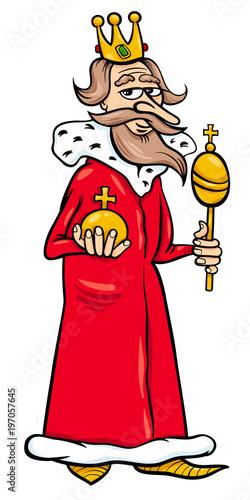 king cartoon fantasy character - 197057645