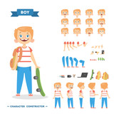 Boy character set.
