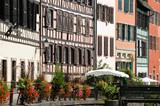 Fachwerkhäuser im ehemaligen Gerberviertel in Straßburg - 197074227