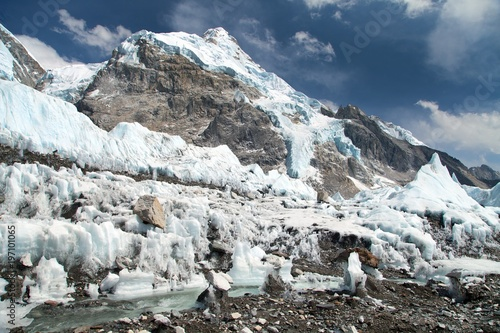 view from Everest base camp