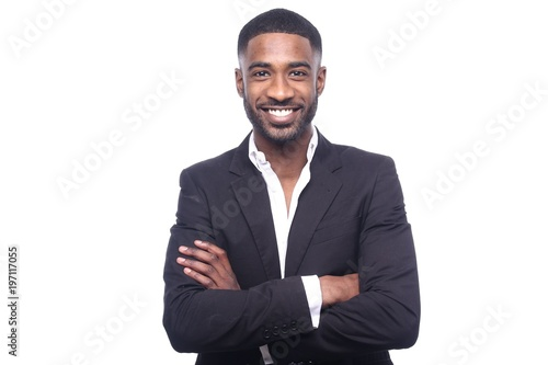 canvas print picture Black man