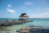 Lagune ciel bleu