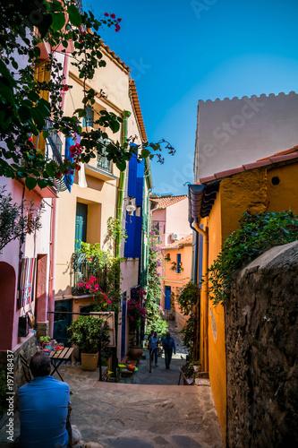 Collioure, côte vermeille, France.
