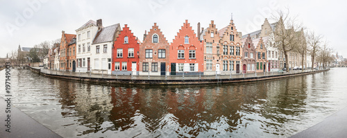 Foto op Canvas Brugge An view at Bruges
