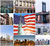 Collage of New York City - 197167289