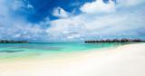 Maldives island with beach - 197169863