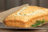 Homebaked Cake With Parmesan, Dill, Chives. - 197175615