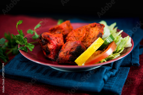Handmade tandoori Grill Indian food