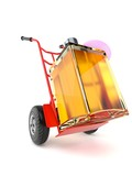 Perfume with hand truck - 197219482