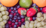 variety of fruits in a heap - 197230808