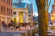 Historic area of downtown Boston, Massachusetts