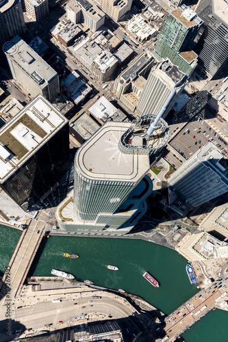 Fototapeta Lookdown Chicago