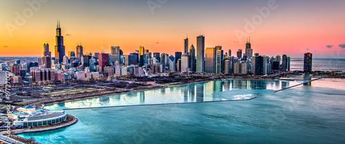 Chicago Sunset - 197270076