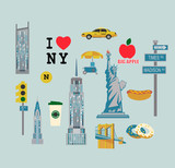 Icons by topic New York