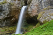 Waterfall in Kakueta Canyon, Aquitaine, France - 197316459