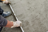 making Cement floor    - 197317225