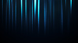 Flying particles in vertical blue light rays - 197317482
